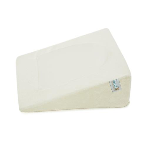 Almohada anti-reflujo antifluido beige