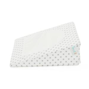 Almohada anti-reflujo antifluido blanca