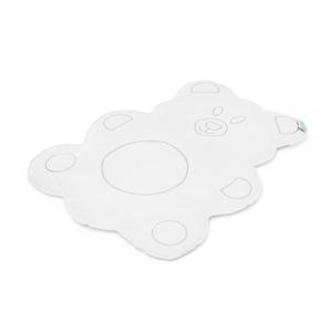 Cambiador portátil oso blanco para bebé
